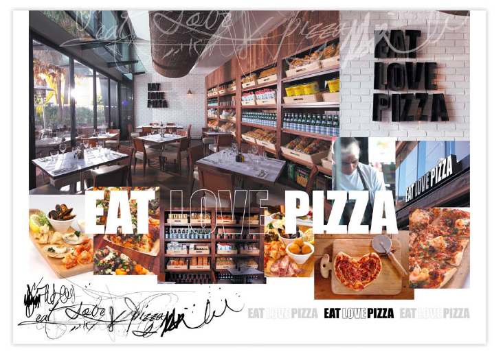 food photography for pizza