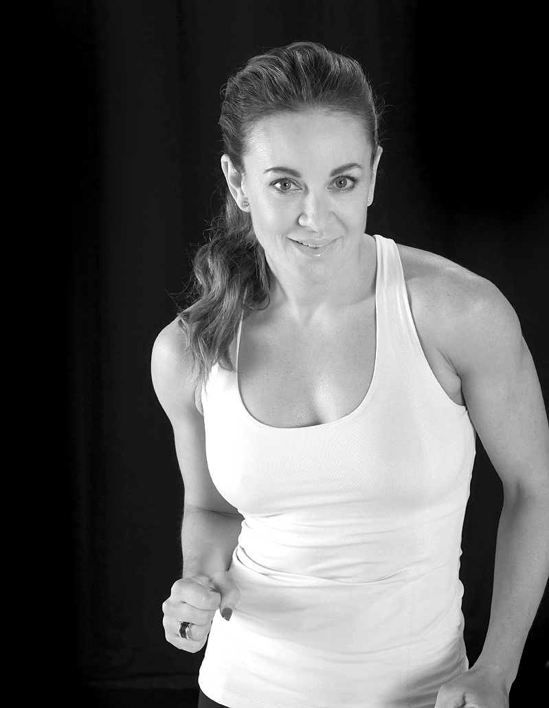 portrait photography of Michelle Bridges active sport and lifestyle by sydney photographer richard weinstein